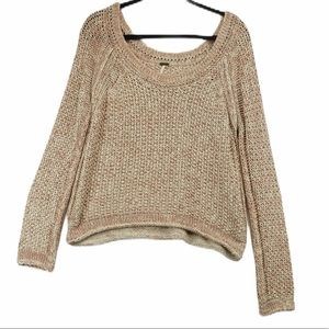 FREE PEOPLE loose knit sweater